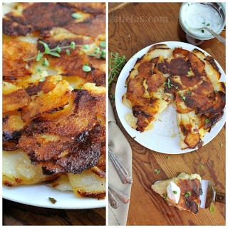 Duck Fat-Potato Galette With Caraway And Sweet Onions Recipes ...