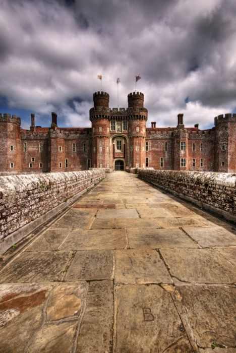 Herstmonceux Castle, East Sussex, England