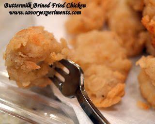 Buttermilk Popcorn Chicken