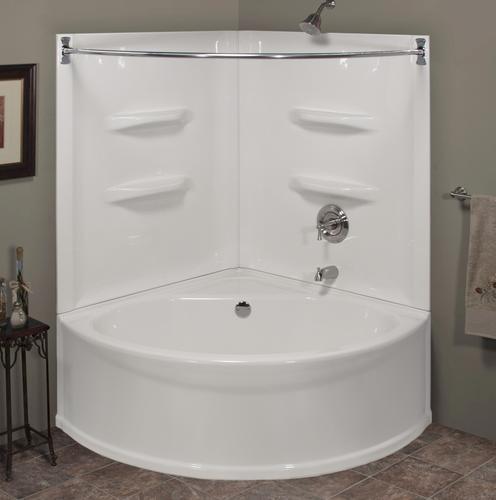 sea wave v corner soaking bathtub at menards future