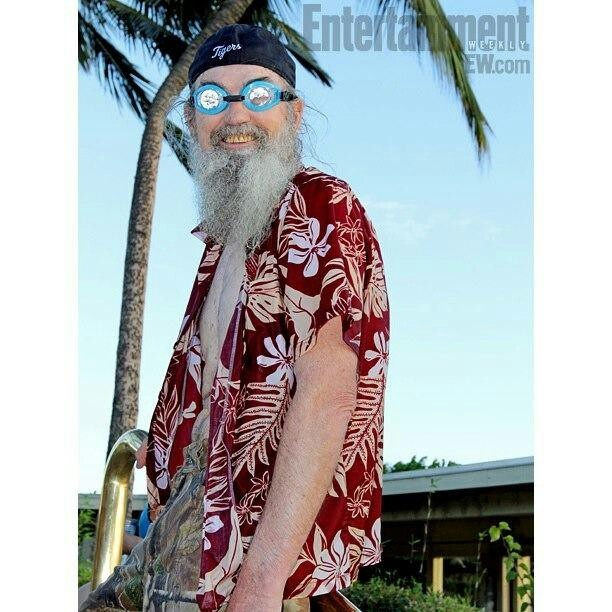 Duck Dynasty's Uncle Si. LOL