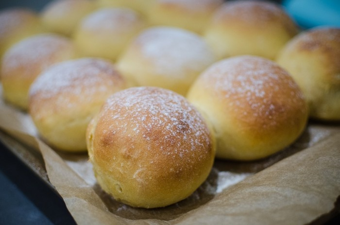 Sweet Potato Buns. These should be perfect with my smoked green chile ...