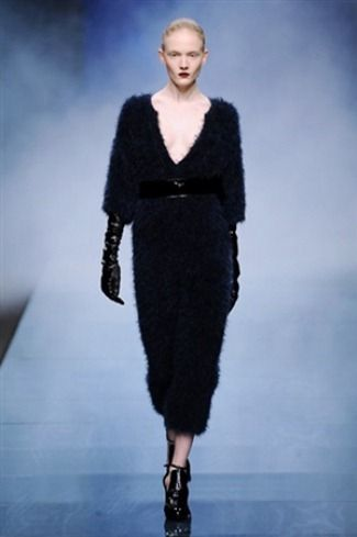 Sweater dress in Anteprima #womens wear Fall-Winter 2013-2014 :: #Milan Fashion Week