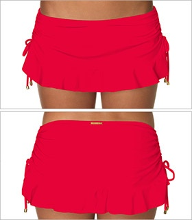 Rojo Flirty Skirt Swimsuit Bottom Style F286