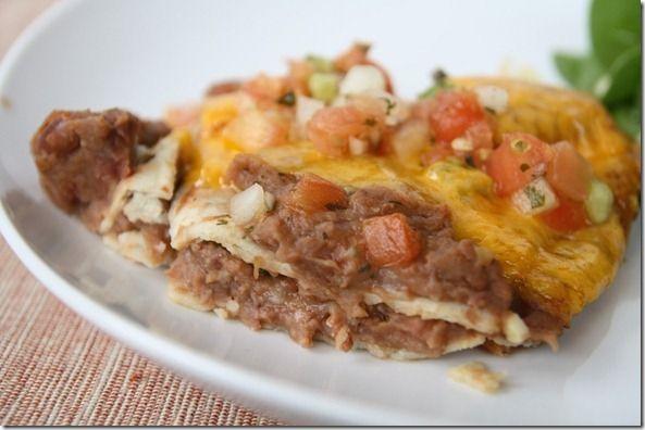 Ingredient Vegetarian Mexican Lasagna (Gluten-free, Vegan options ...