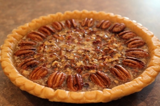 Lots of yummy desserts! Browned butter pecan pie, Christmas tree cake ...