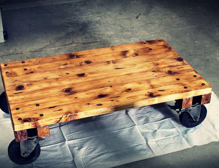 Pin by apaletarte sevilla on mesa de centro para sal n - Mesas de centro rusticas ...