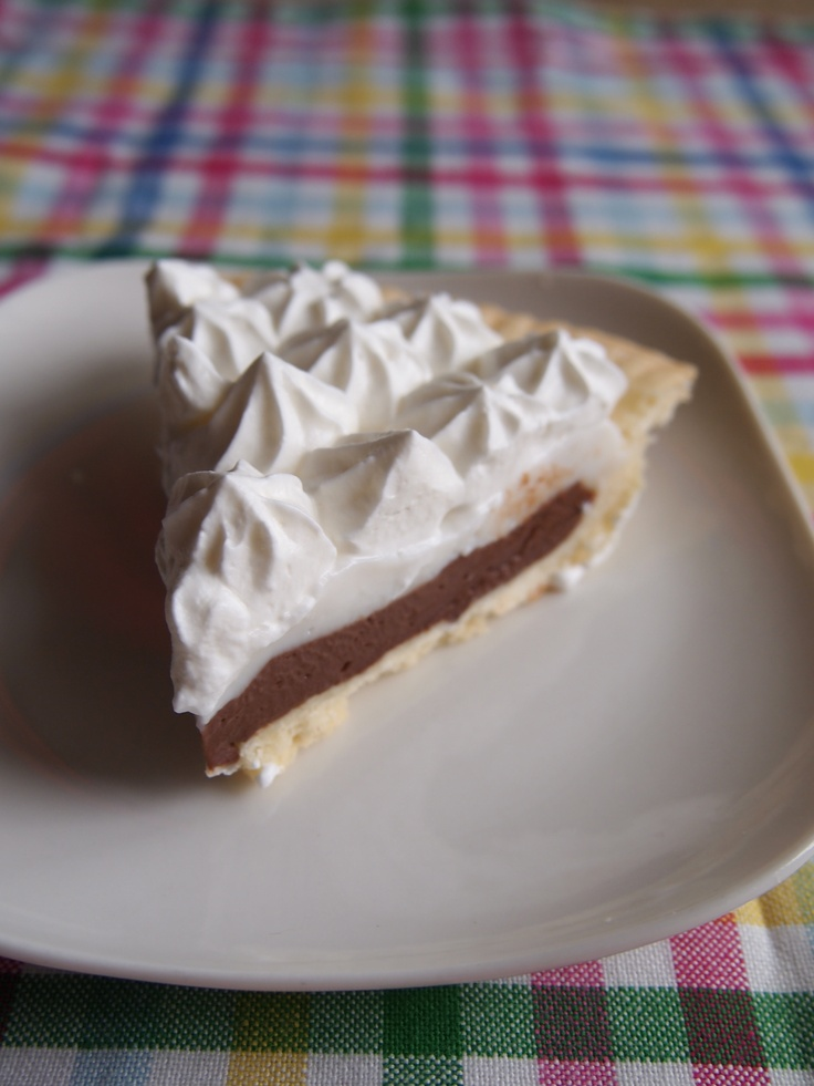 chocolate haupia pie | My recipes | Pinterest