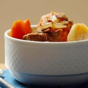 Alisons Slow Cooker Vegetable Beef Soup   Eat, Drink, and Be Merry ...