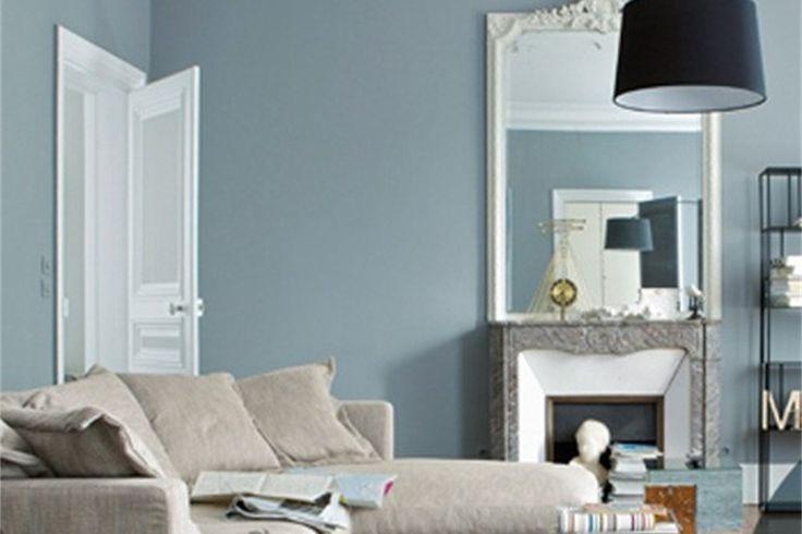 Grijs blauw interieur thuis zolder pinterest for Interieur kleur