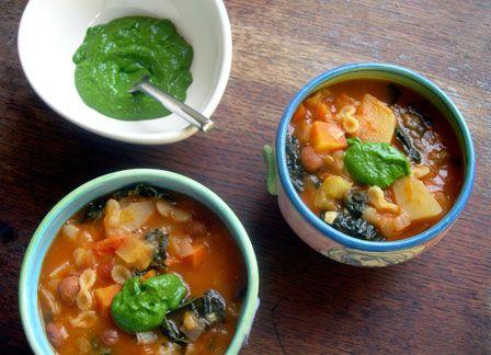Pistou Soup | Recipes - Soups/Stews/Chilis | Pinterest