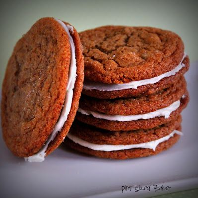 ... Cookies and Lime Sandwiches - the perfect combination of cool lime and