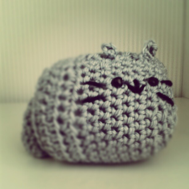 Pusheen Knitting Pattern : crochet pusheen the cat! Pusheen Pinterest
