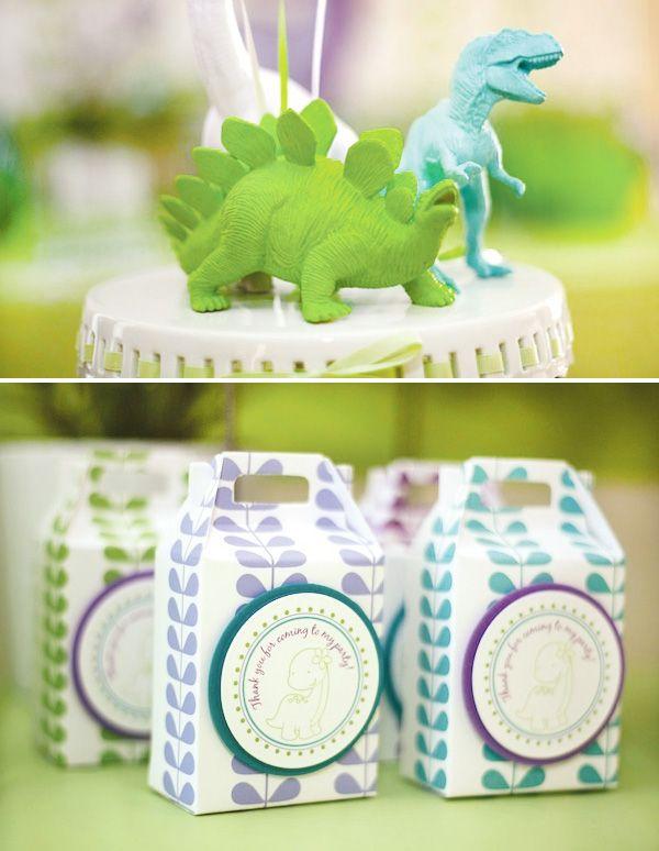 girly dinosaur party