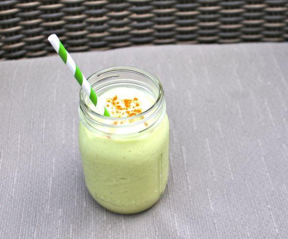 Avocado-Banana Smoothie Recipe — Dishmaps
