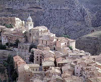 Albarracín, Teruel, ESPAÑA.
