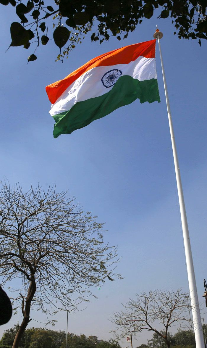 where is flag hoisted on republic day