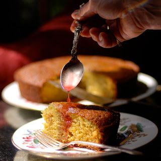 Orange Scented Olive Oil Cake | Lostpastremembered | Pinterest