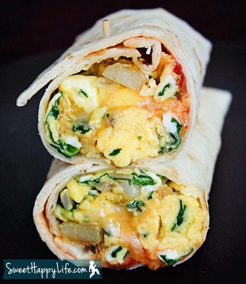 Farm Share Breakfast Burritos | Recipe