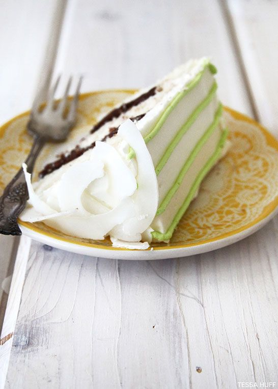 Coconut Lime Cake by Tessa Huff ,,, Coconut cake with lime coconut ...
