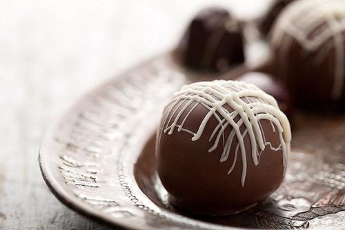 Chocolate Truffles   Om Nom Nom   Pinterest