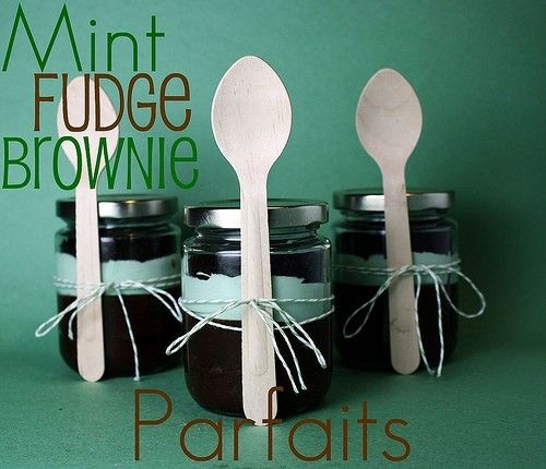 Mint Fudge Brownie Parfaits.... Mmmm.... | Eat. | Pinterest