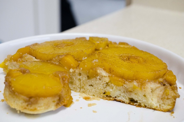 Pineapple Mango Upside-Down Cake. | Cakes to Bake | Pinterest