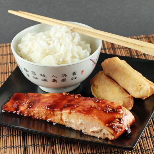 Asian Glazed Salmon (RT) {mommy savers} | {Foodie} Copycat | Pinterest
