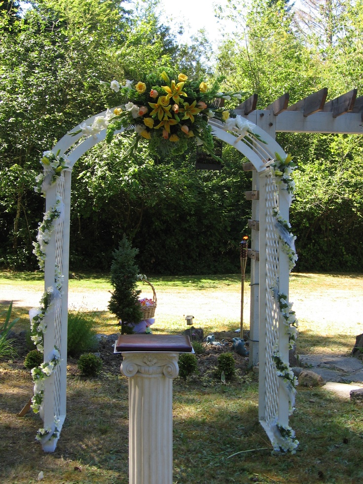 Triyae Hawaiian Themed Backyard Weddings Various Design Inspiration For Backyard