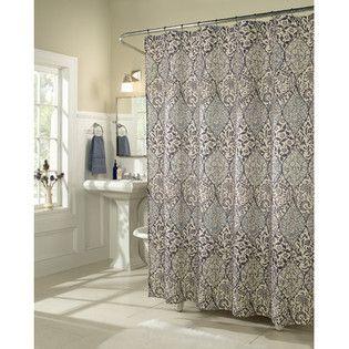 Shower Curtain Sears Bathroom Reno Pinterest