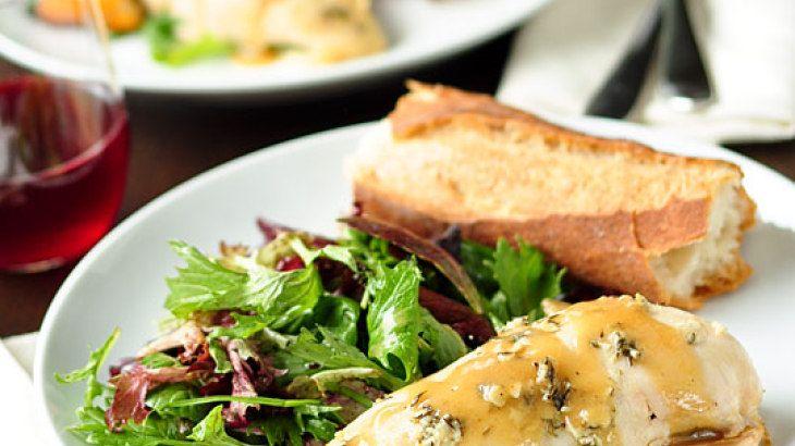 Slow-Cooker Lemon Garlic Chicken | More Yum Yums | Pinterest
