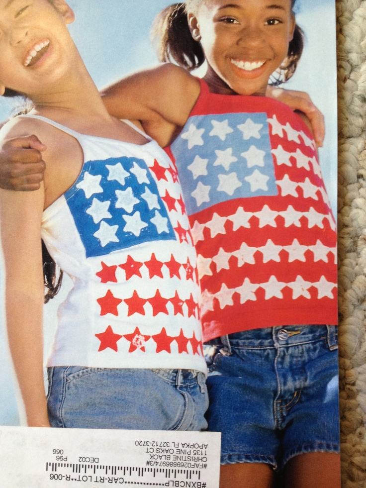 4th of july clothes diy