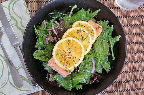 Green Tea Poached Salmon | Paleo Dishes | Pinterest