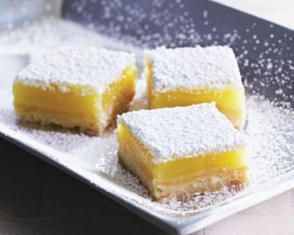 Classic Lemon Bars Recipe | Nom Noms | Pinterest