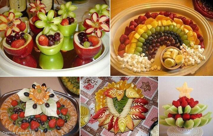 Fruit Tray Ideas