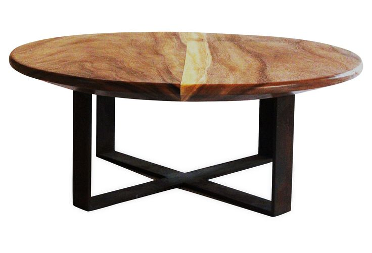 Disc 48 Oval Chamcha Coffee Table