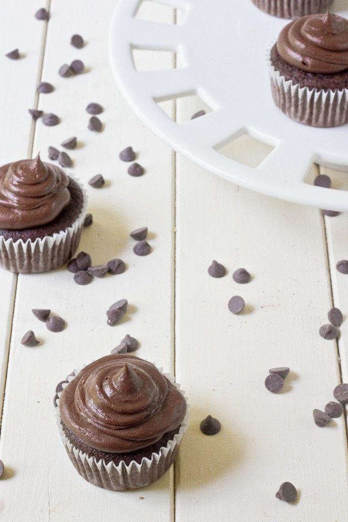 paleo chocolate cupcakes (coconut flour) | Paleo | Pinterest
