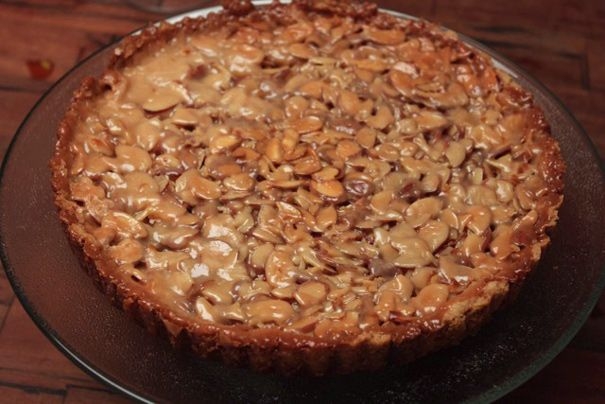 Lindsey Shere's Legendary Almond Tart | Be gourmet: cakes & pies ...
