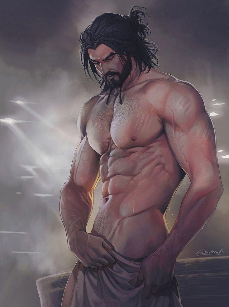 Обнаженный Мужчина Арт