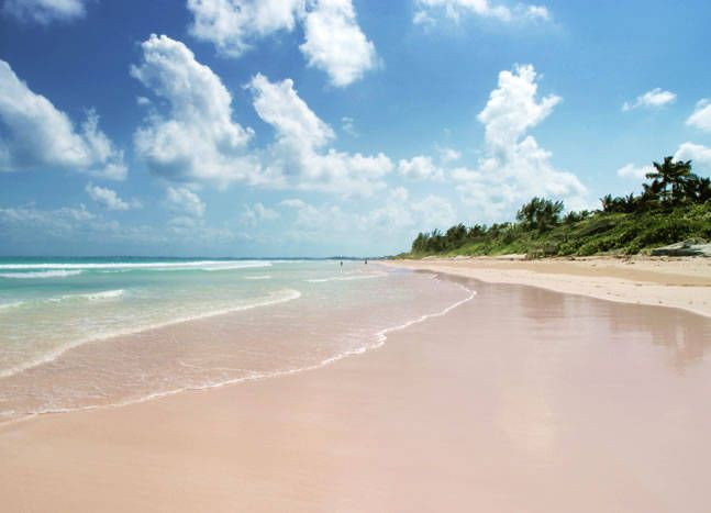 Pink sand beach harbour island bahamas favorite places for Pink sand beaches bahamas