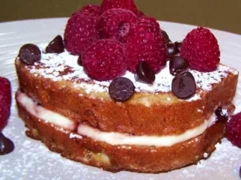 Chocolate Raspberry Cheesecake Stuffed French Toast - Gluten Free ...