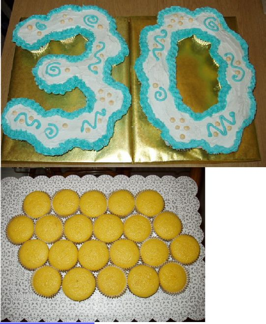 Cake Designs Made Out Of Cupcakes : How to Make Pull-Apart Cupcake Cakes Cupcake Tutorials ...