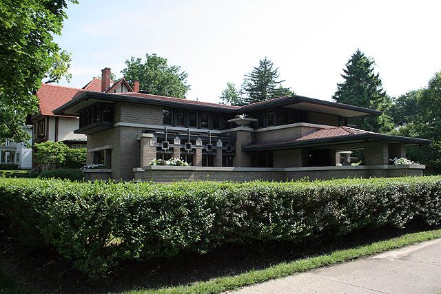 Meyer May House Frank Lloyd Wright Pinterest