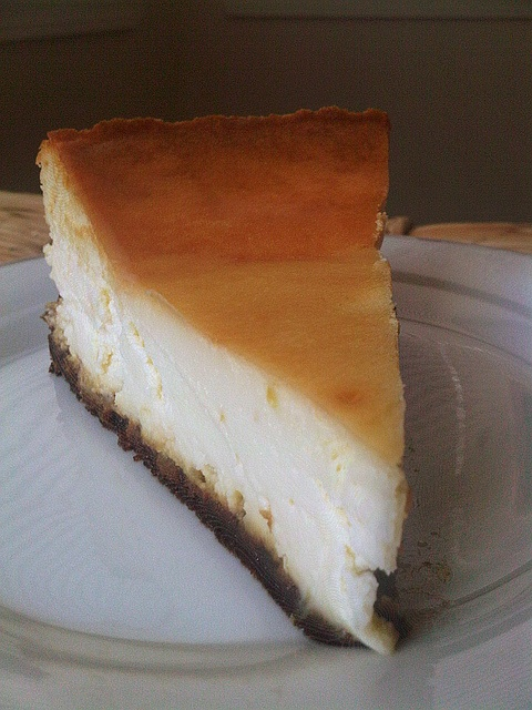 Lemon Cheesecake with Gingersnap Crust | Food & Drink | Pinterest