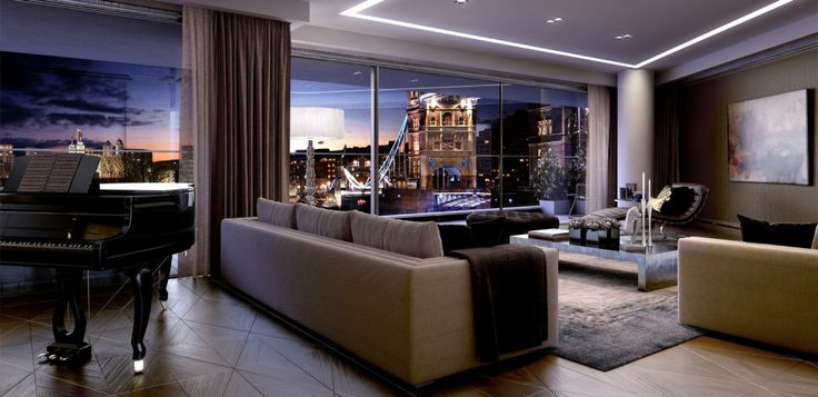 Lounging at night overlooking the city of london such a fab view from