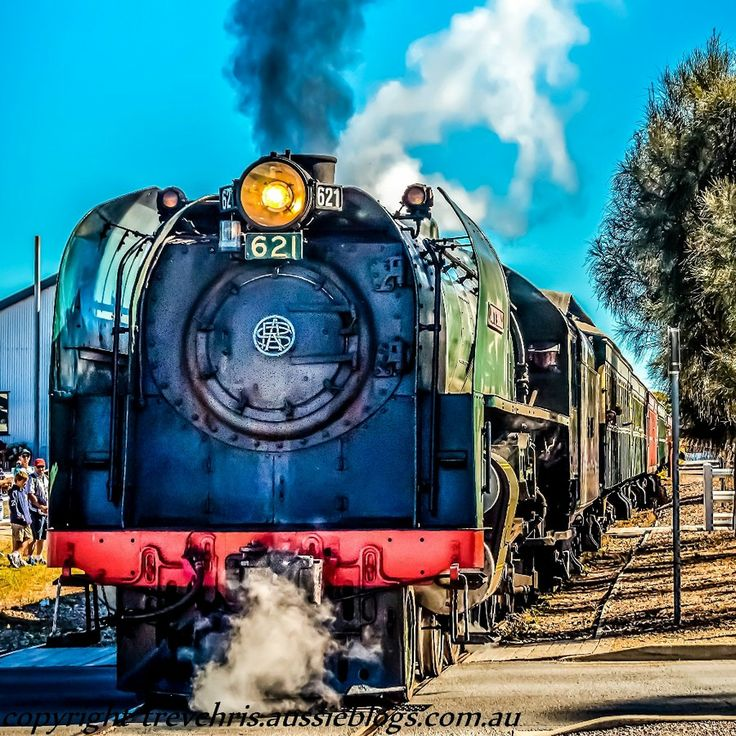 Goolwa Australia  city pictures gallery : Duke of Edinburgh' steam locomotive at Goolwa, South Australia