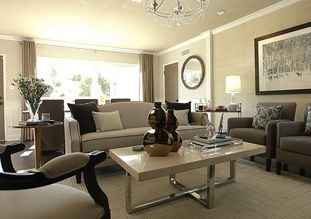 Jeff lewis sherman oaks jl paint quarry on ceiling and for Jeff lewis living room designs