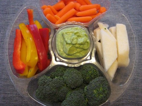 Recipe: Avocado Honey Dip - Veggies Deserve Something this Lovely!