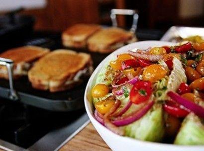 Quick-Marinated Cherry Tomato Salad...Pioneer Woman.