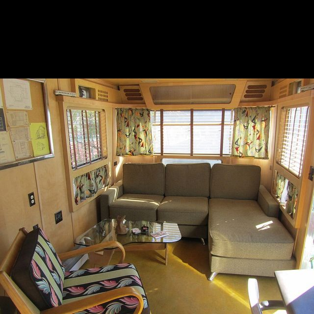 Vintage Camper Interior Camping In Style Pinterest